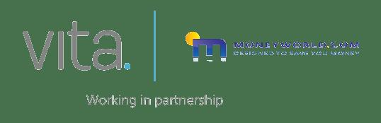 Moneyworld and Vita logo